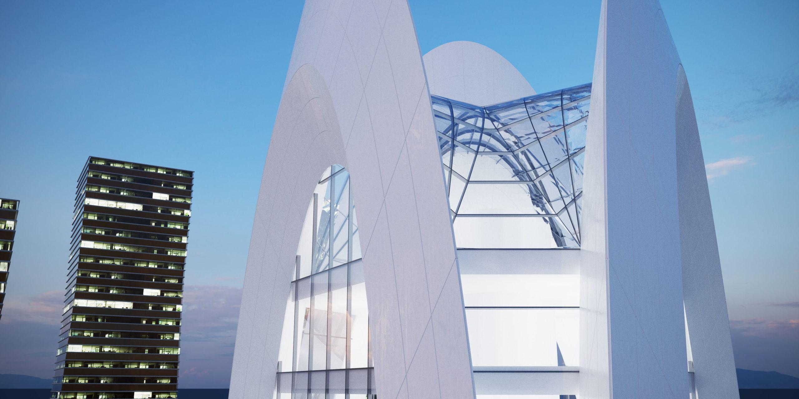 Архитектурный проект бизнес центра2