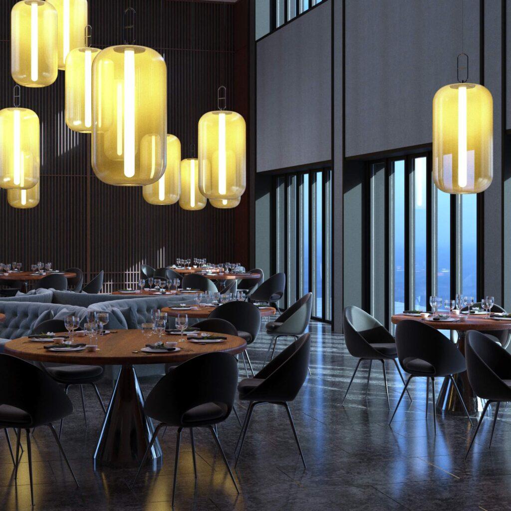 Дизайн интерьера Кафе в восточном стиле