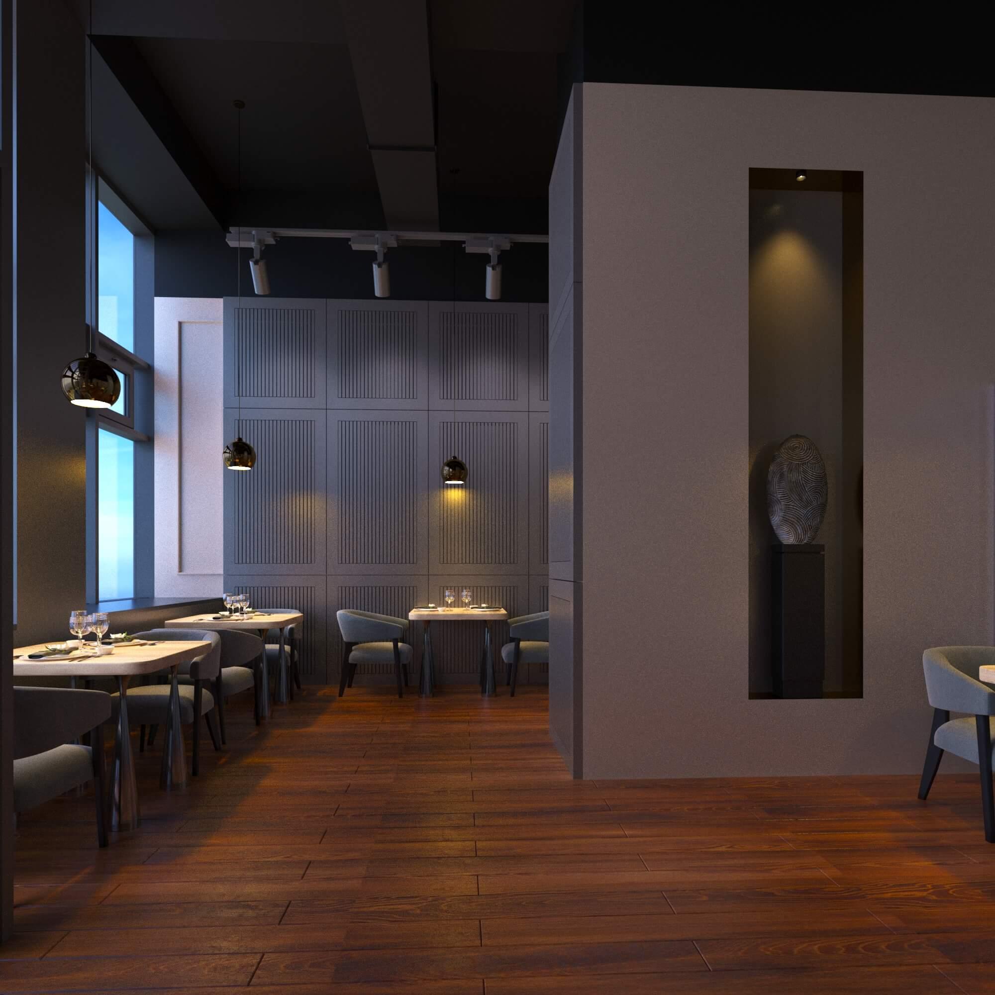 Дизайн кафе от студии дизайна Clever Design