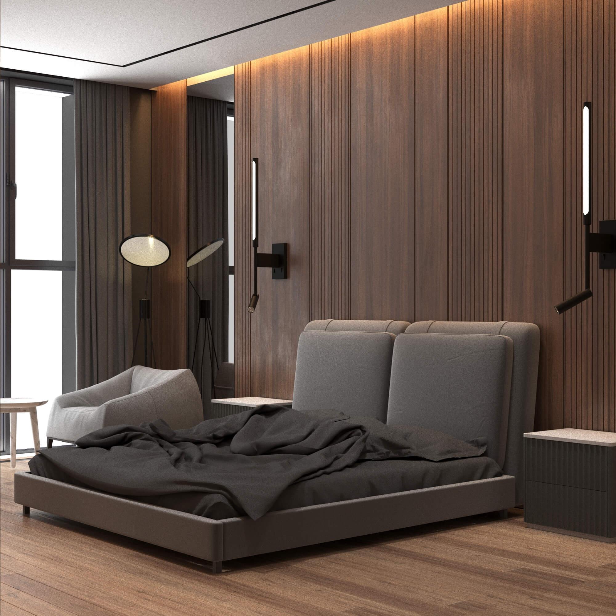 дизайн интерьера квартиры в Астане