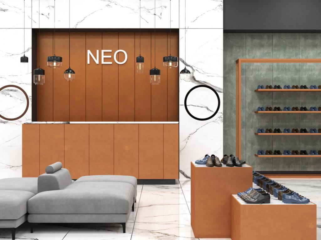 дизайн интерьера бутика
